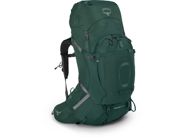 Osprey Aether Plus 60 Backpack, axo green